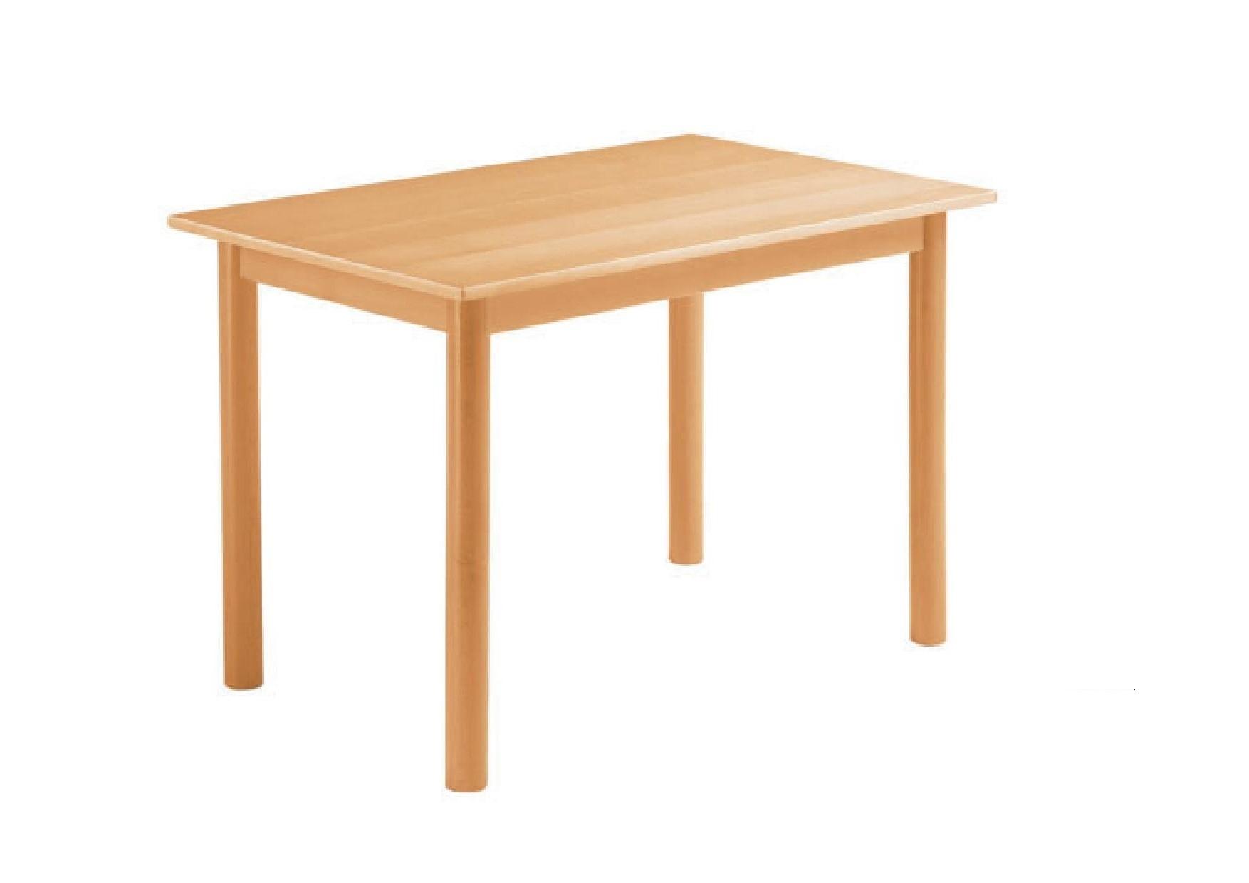 Tischgestell Holger 120x80 - Buchenholz