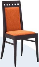 Moderner Stuhl Miriam - Buchenholz