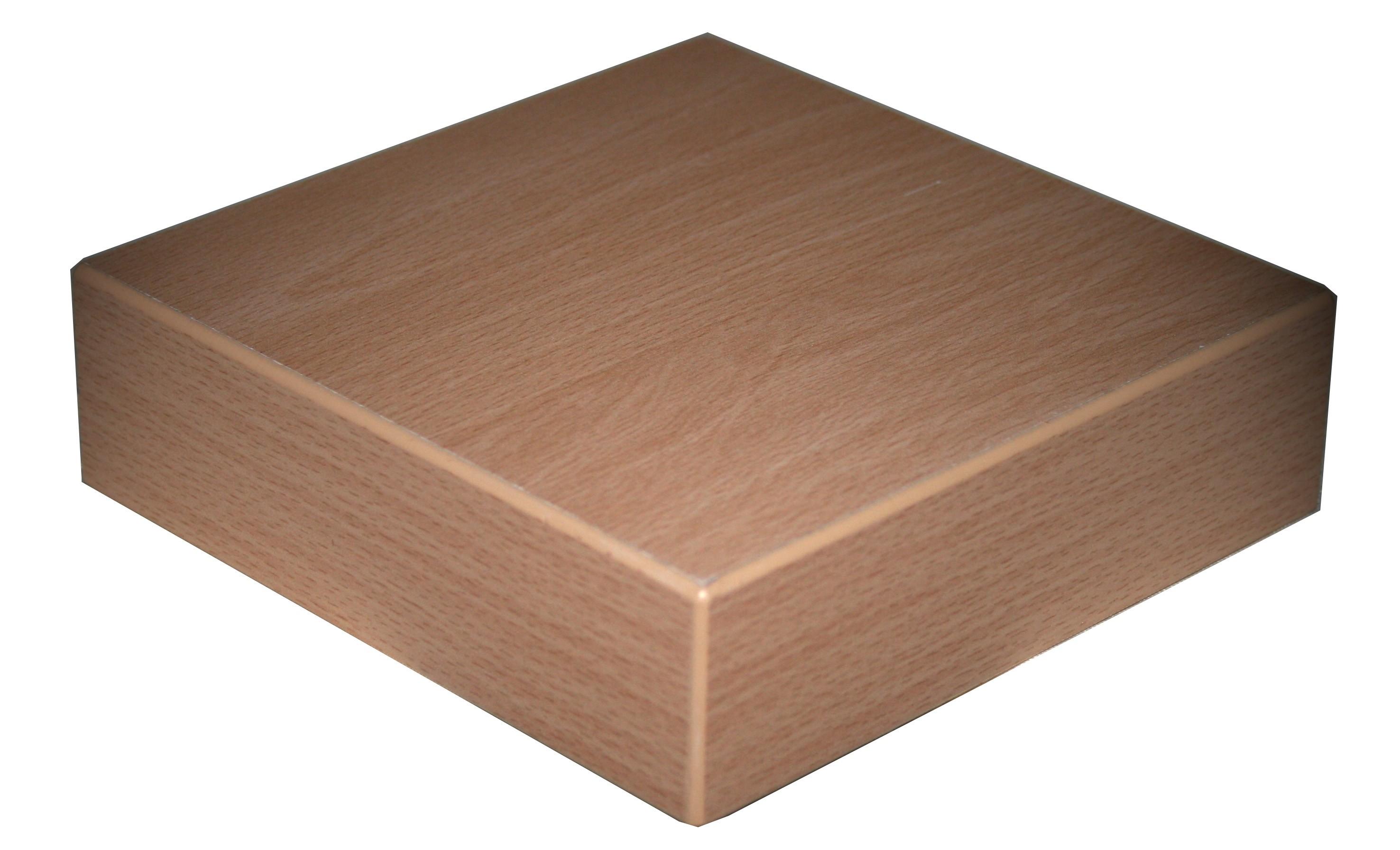 Tischplatte Melamin 41mm 80x80