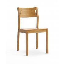 Moderner Stuhl Marion H - Eichenholz