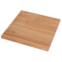Tischplatte Eiche 26mm 80x80